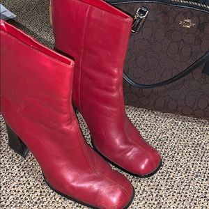 Shoes - Red booties!